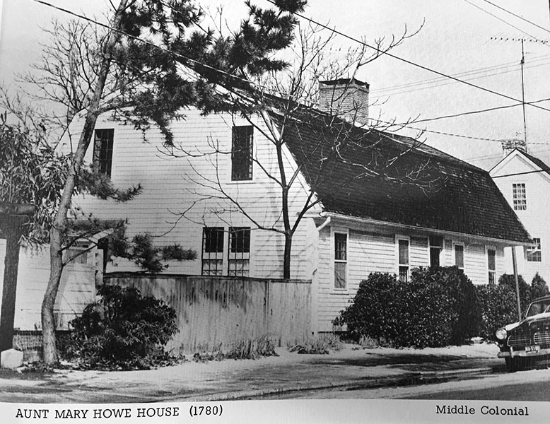 Aunt Mary Howe House 1780