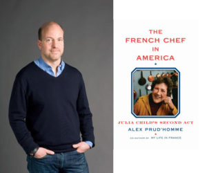 Alex Prudhomme and book cover
