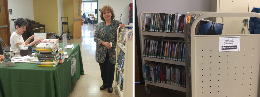 Library Receives $550 Grant from Mystic Woman's Club