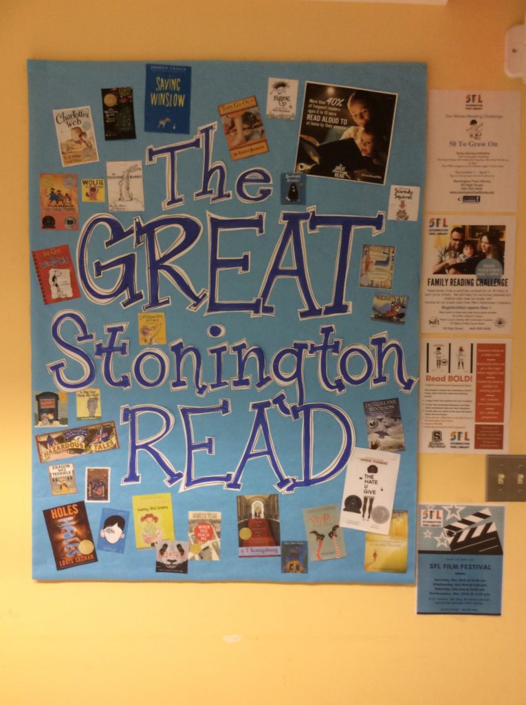 The Great Stonington Read Winter Reading Challenges