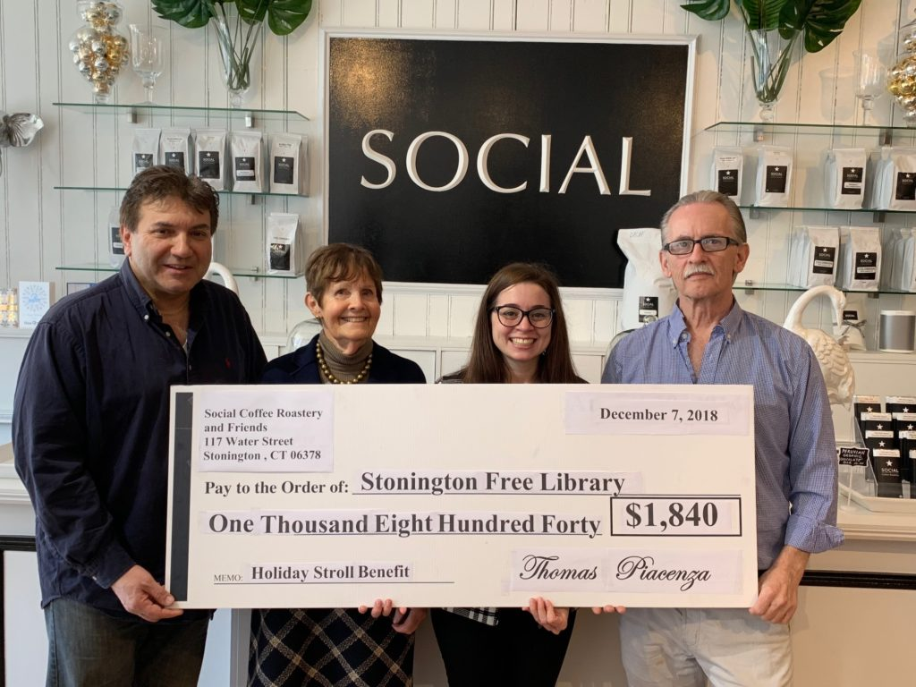 Library Fundraiser at Social Coffee Roastery