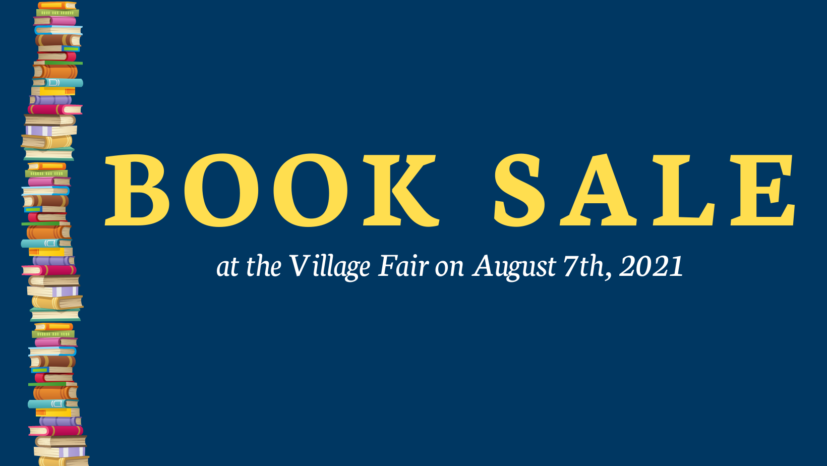 Copy of Book Sale - Save your books!